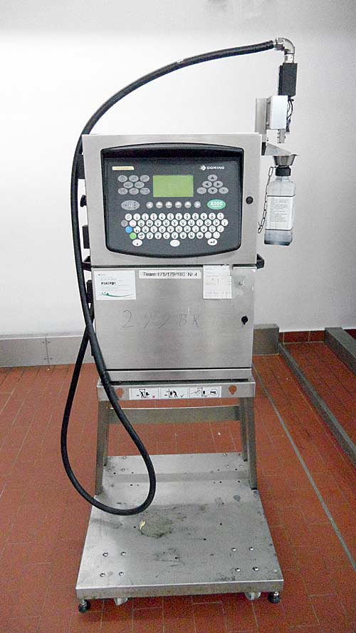 Continuous Ink-Jet Drucker Domino A200 Bild-1
