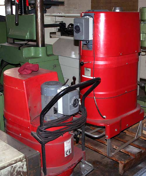 Industrial Three-Phase Vacuum Cleaner Ruwac DS Image-1