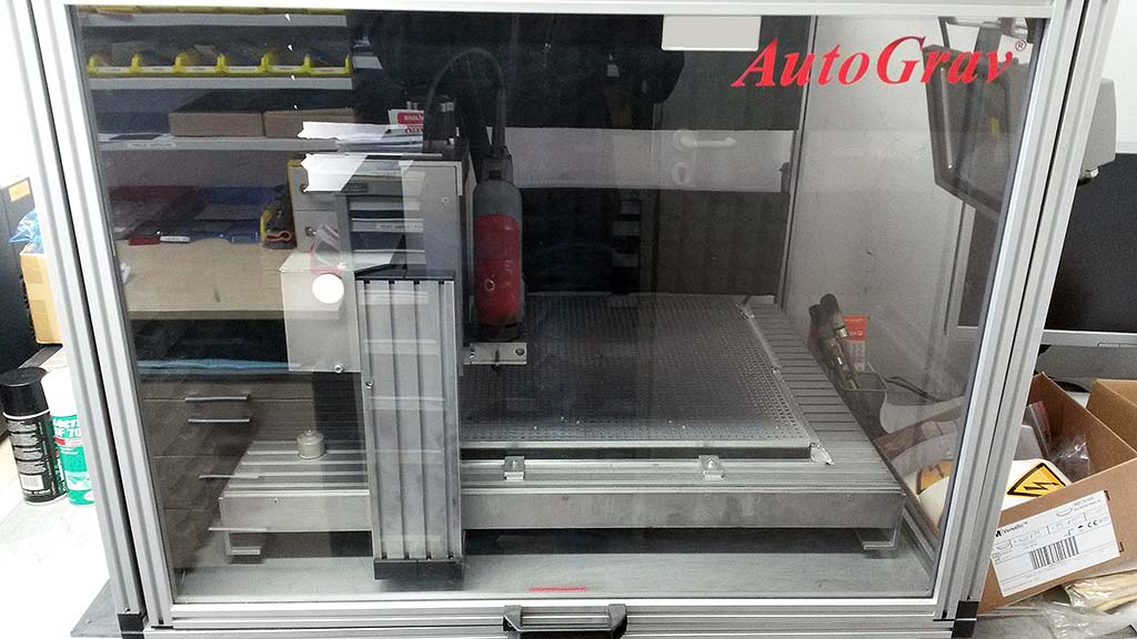 CNC Engraving and Milling Machine AutoGrav AG3S Image-1