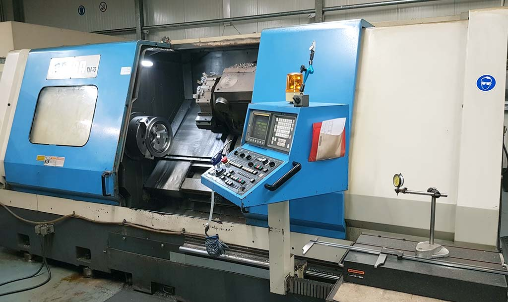 CNC Lathe Johnfort MATRA TM-75 Image-1