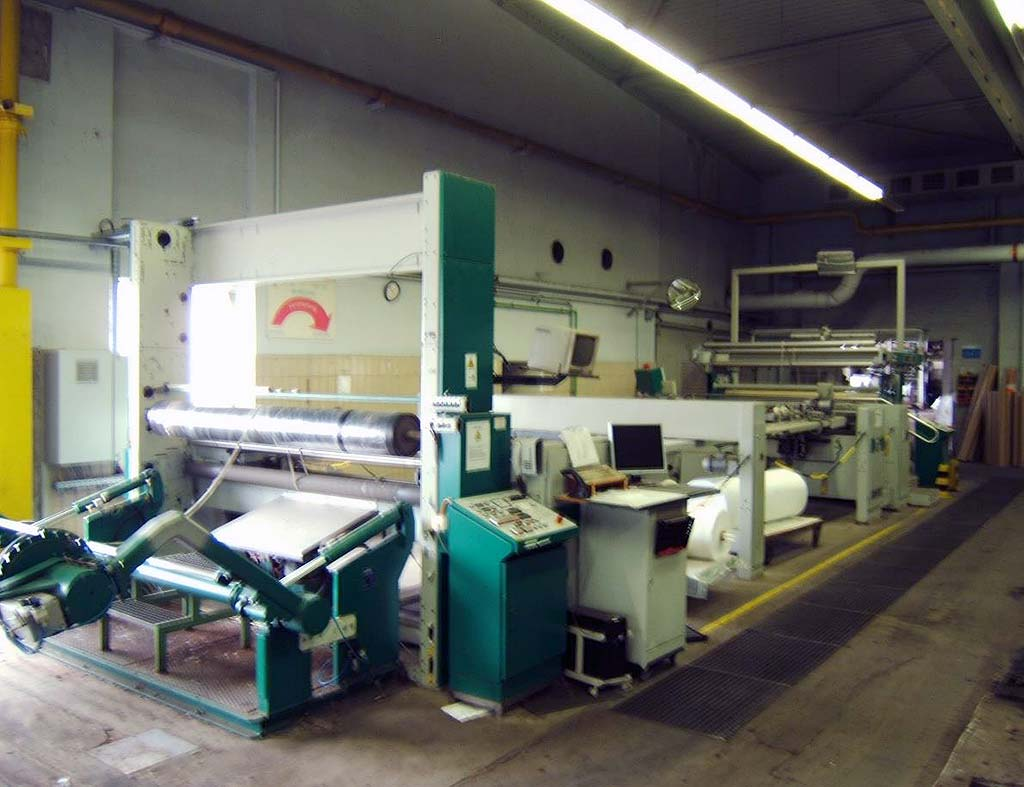 Stenter Frame with Winder MONFORTS Montex TMSD-0F Image-1