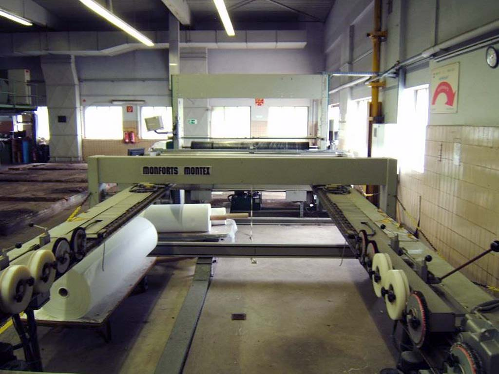 Stenter Frame with Winder MONFORTS Montex TMSD-0F Image-3