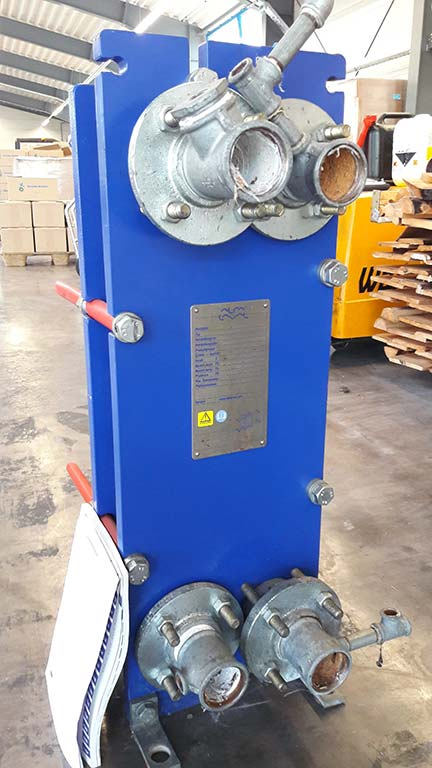 Gasketed Plate Heat Exchanger ALFA LAVAL M6 FG Image-1