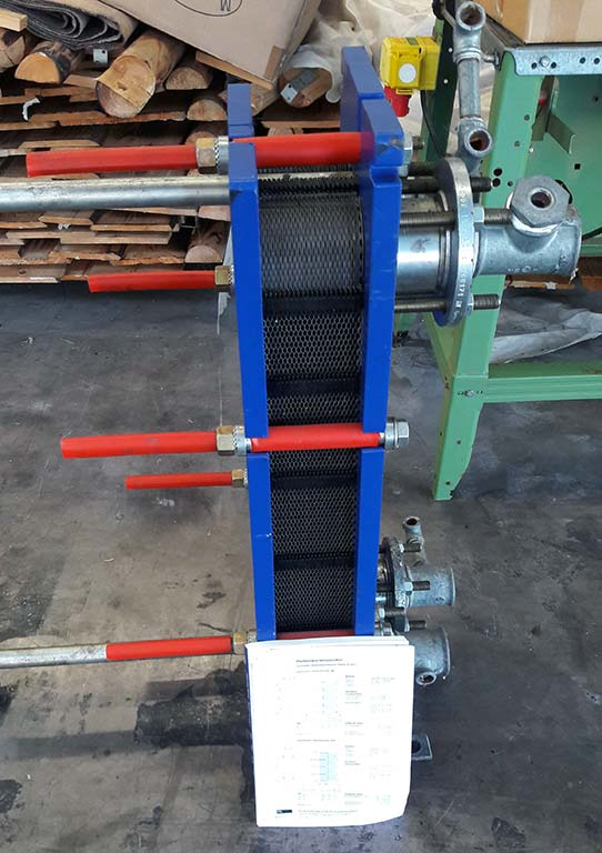 Gasketed Plate Heat Exchanger ALFA LAVAL M6 FG Image-3