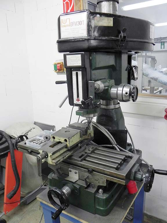Drilling and Milling Machine KNUTH BFM 30T Image-1