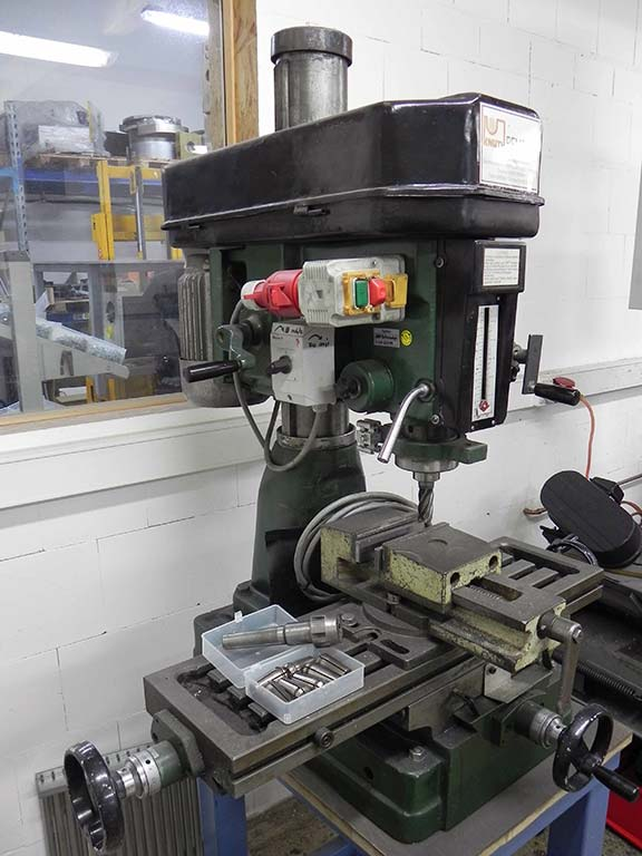 Drilling and Milling Machine KNUTH BFM 30T Image-2