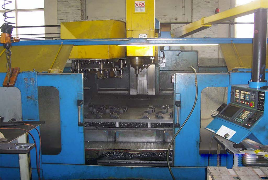 Machining Center LEADWELL MCV 2000 Image-1