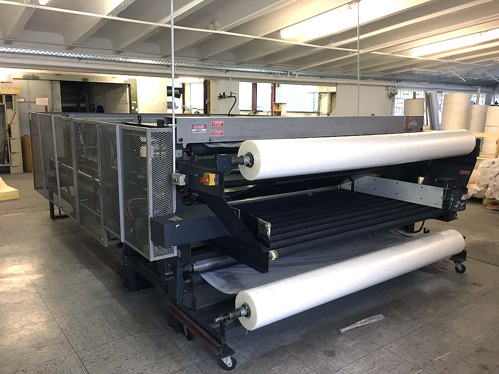 Flat Foil Packaging Machine SPUHL AMW-1 Image-2