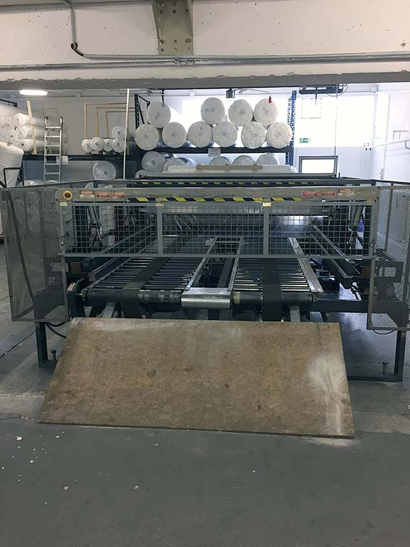 Flat Foil Packaging Machine SPUHL AMW-1 Image-3