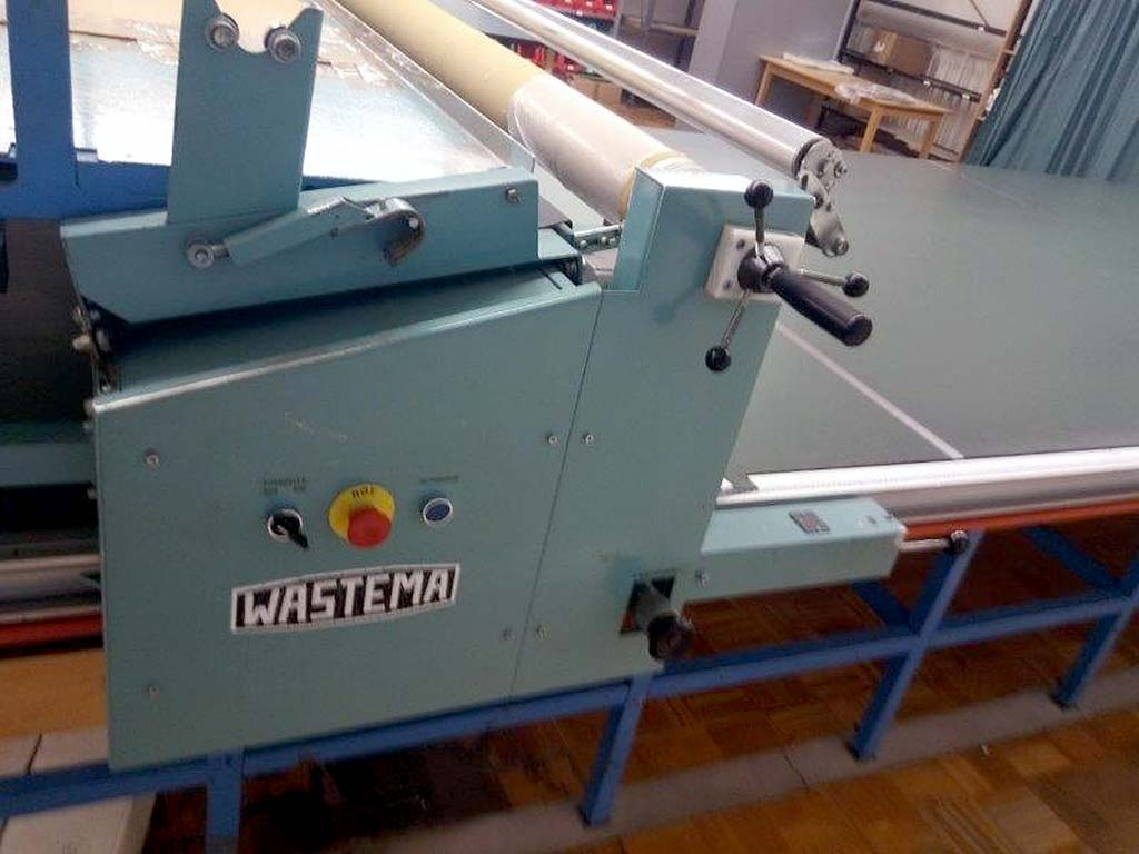 Fabric Rolls Lifting Machine WASTEMA STV 7500 Image-4