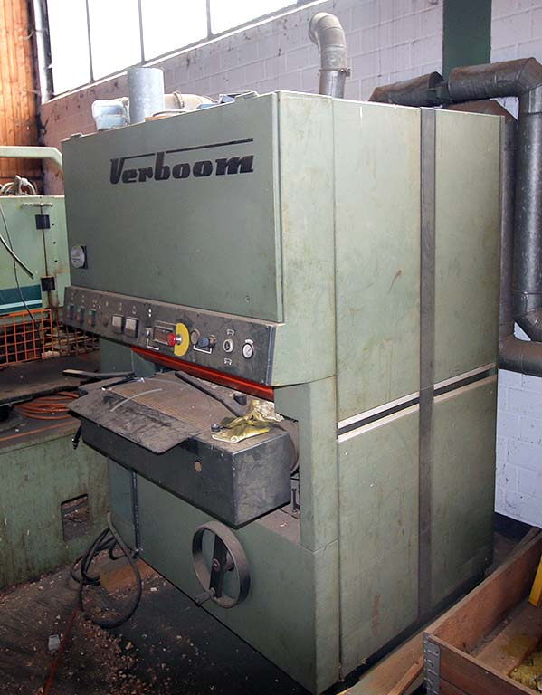 Wide Belt Contact Grinding Machine VERBOOM BBB-600/2 Image-2