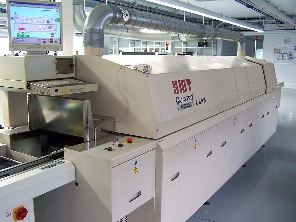 Reflow Soldering Oven Smt Quattro Peak C 30 N2 Used Images Image 1