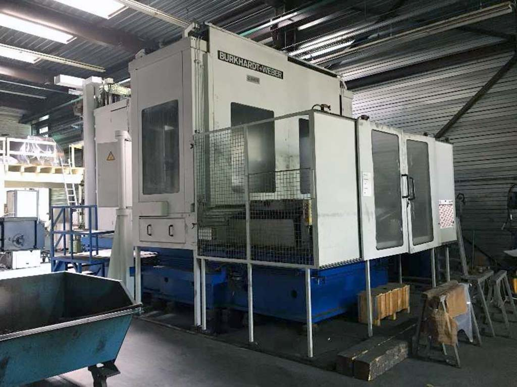 Universal Machining Center BURKHARDT+WEBER MC 120 HV Image-1