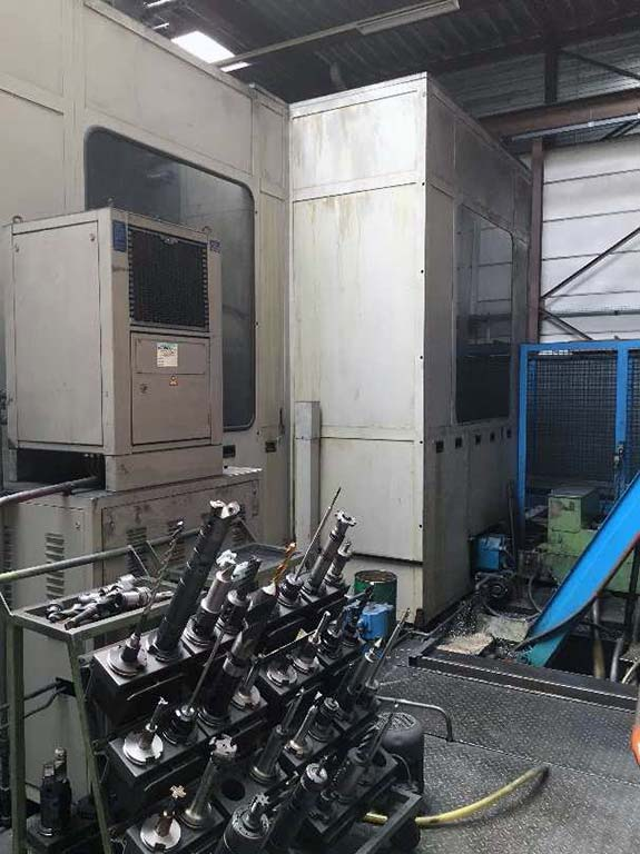 Horizontal Machining Center SCHARMANN Ecocut 1.3 Image-4