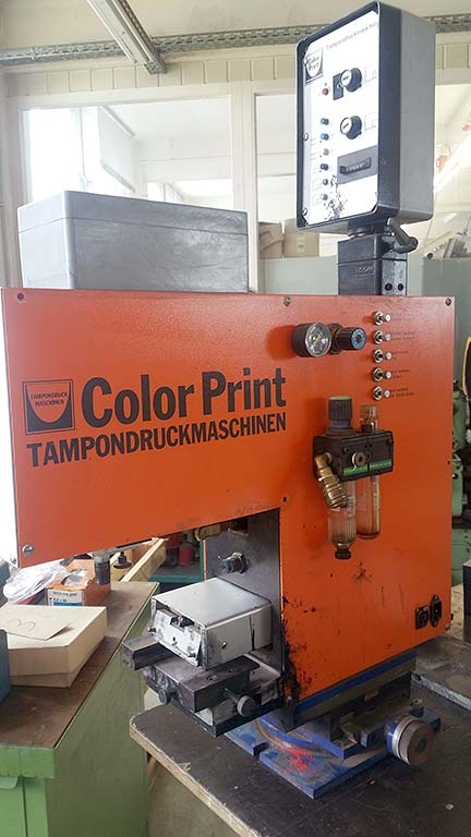 Pad Printing Machine COLOR PRINT CP-801 80x100 Image-1