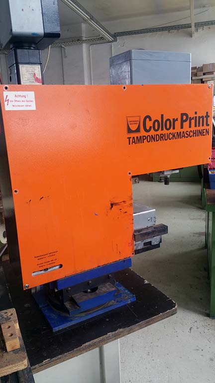 Pad Printing Machine COLOR PRINT CP-801 80x100 Image-2