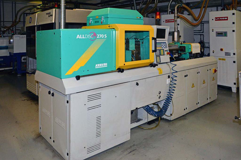 Injection Moulding Machine ARBURG Allrounder 270 S-CD 250-150 Image-1