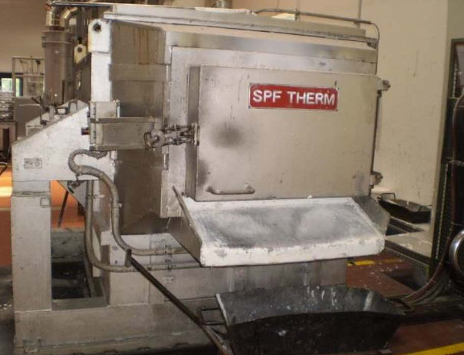 Aluminium Melting and Holding Furnace SPF THERM S-2 K10 Image-1