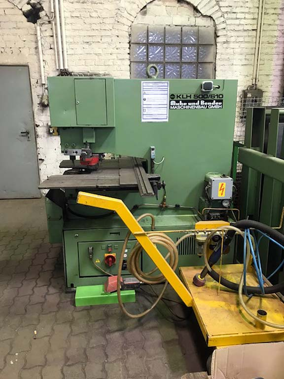 Hydraulic Hole Punching Machine MUBEA KLH 500/610 Image-2
