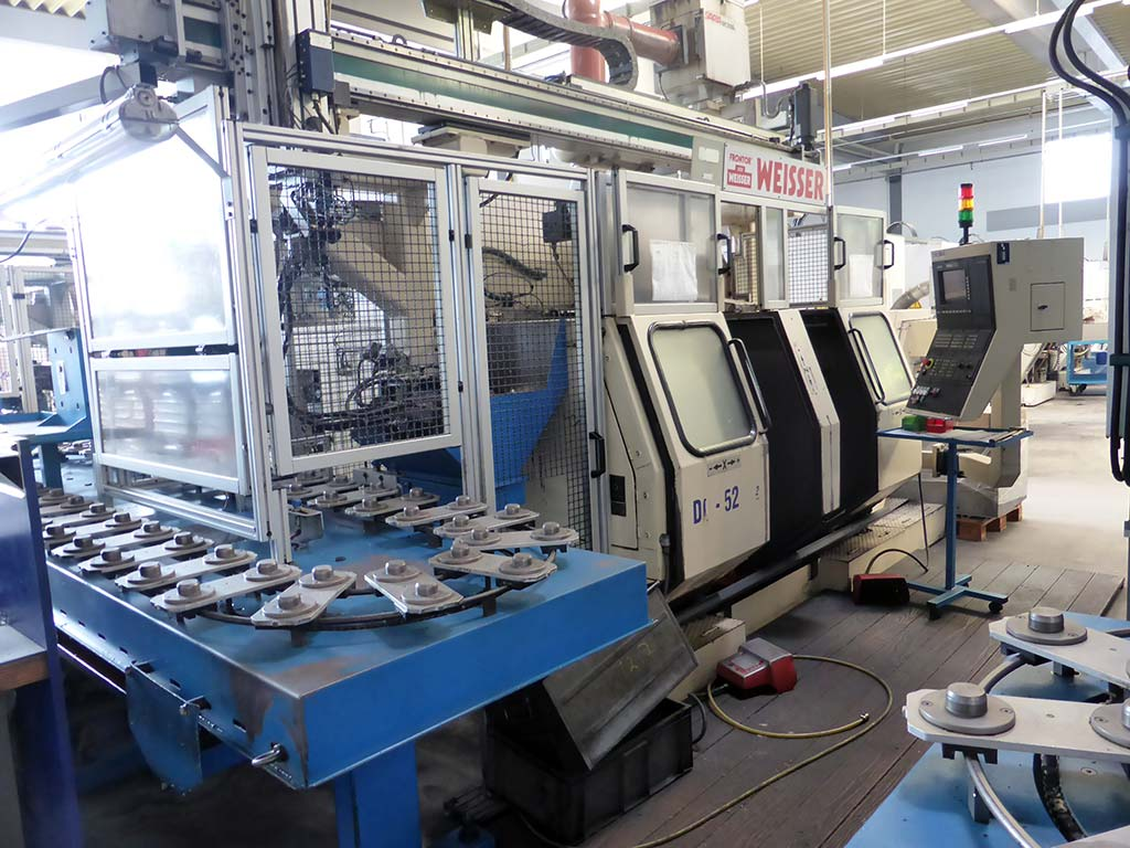CNC Double Spindel Lathes WEISSER DC-50/ 51/ 52/ 56 Image-2