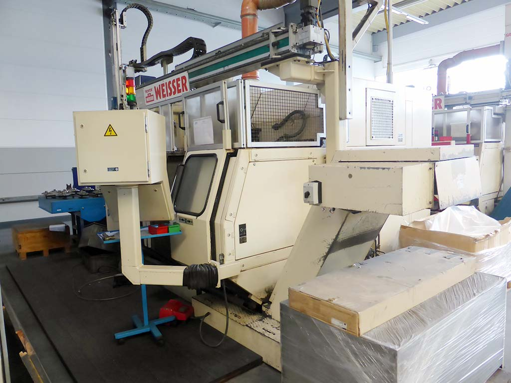 CNC Double Spindel Lathes WEISSER DC-50/ 51/ 52/ 56 Image-3