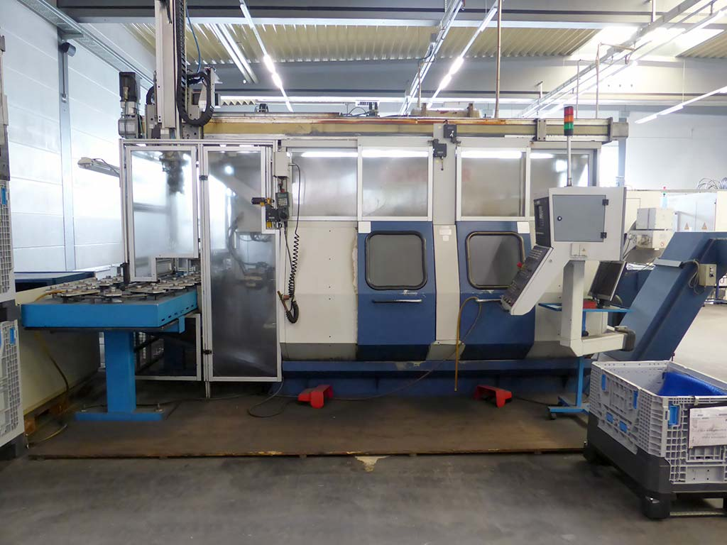 CNC Double Spindel Lathes WEISSER DC-50/ 51/ 52/ 56 Image-5