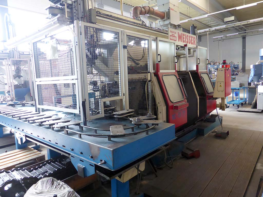 CNC Double Spindel Lathes WEISSER DC-50/ 51/ 52/ 56 Image-6
