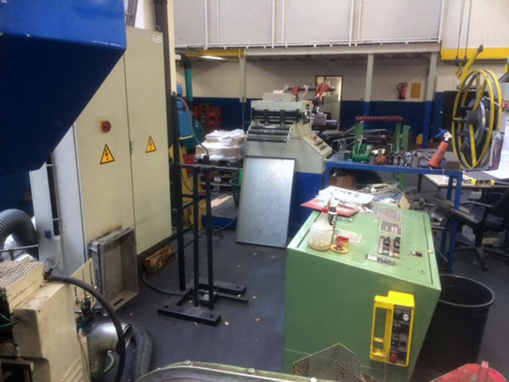 Double Jacketed Eccentric Press MÜLLER PDE 100 RF/HK Image-3
