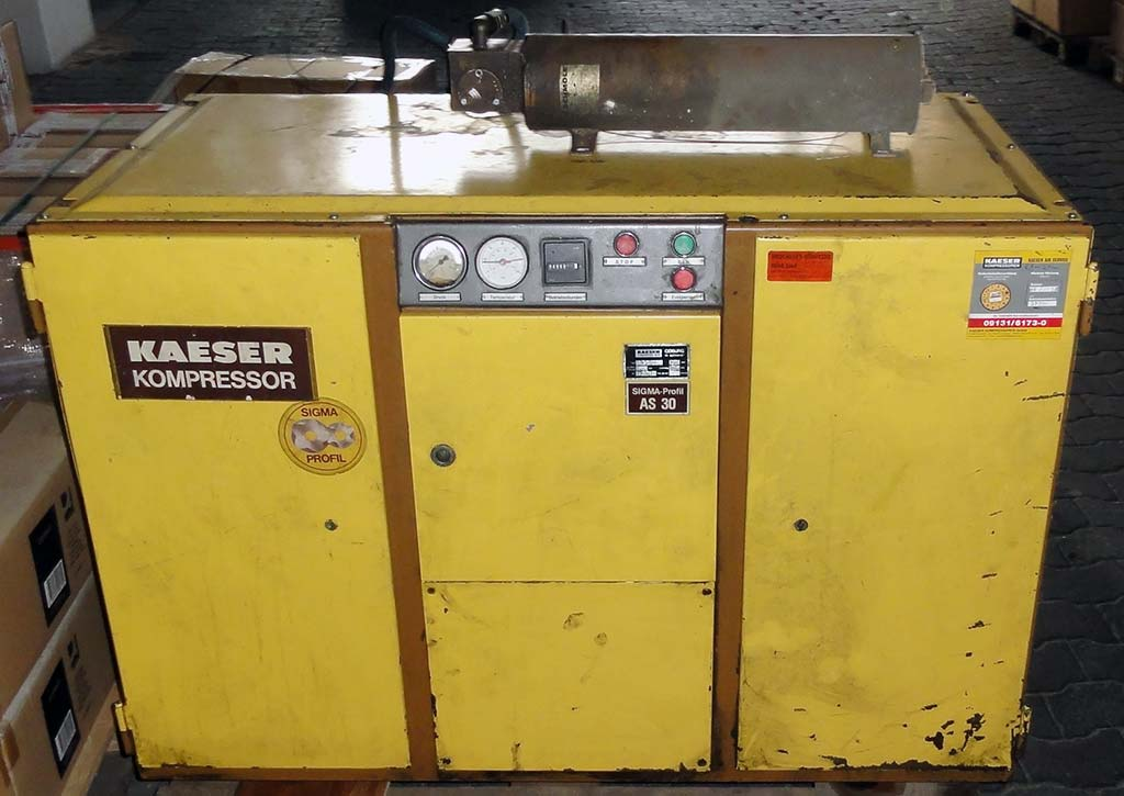 Screw Compressor KAESER AS 30 Image-1