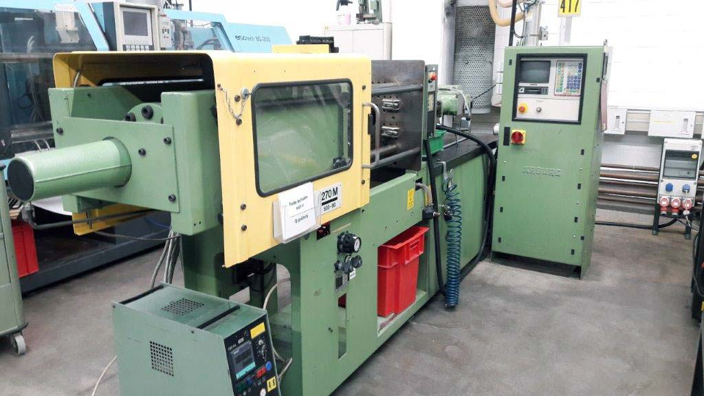 Injection Moulding Machine ARBURG Allrounder 270 M 500-90 Image-1