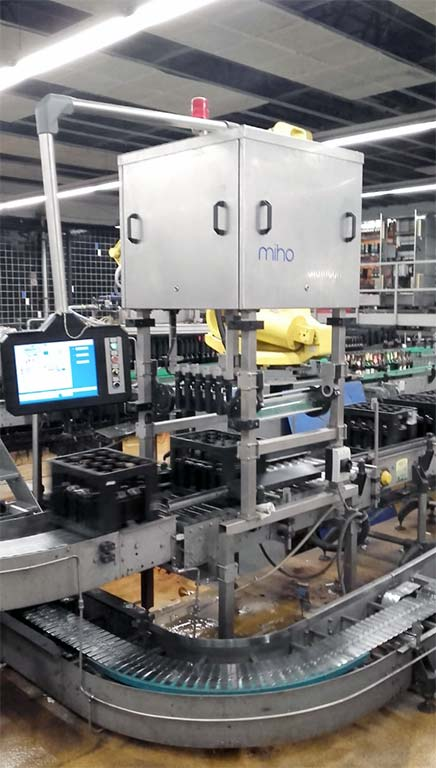 Bottle Sorting System MIHO Multicon-K Image-1