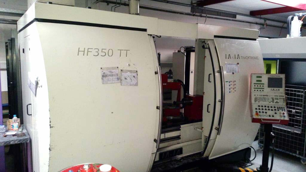 Spinning, Projecting and Necking Machine M&M TRACKTRONIC HF 350 TT Image-1