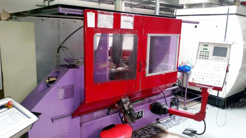Spinning, Projecting and Necking Machine M&M TRACKTRONIC HF 350 TT Image-2