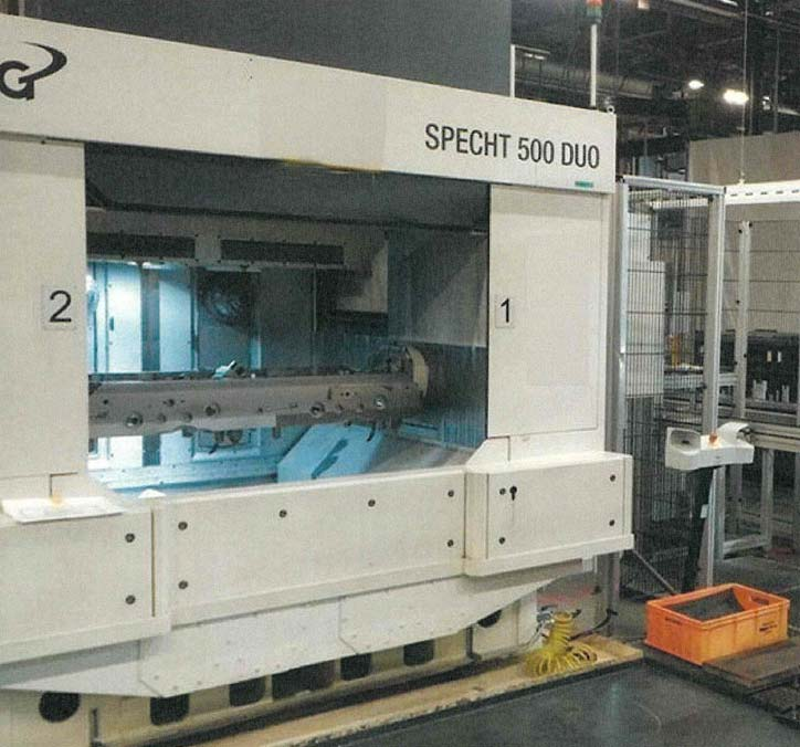 CNC Double Spindle Machining Center MAG SPECHT 500 DUO Image-1