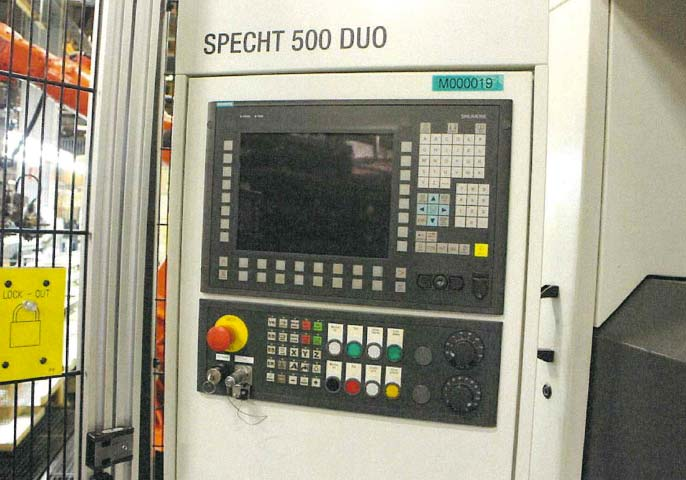 CNC Double Spindle Machining Center MAG SPECHT 500 DUO Image-3