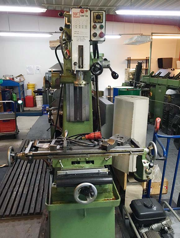 Drilling and Milling Machine KNUTH GBF 30 Image-1