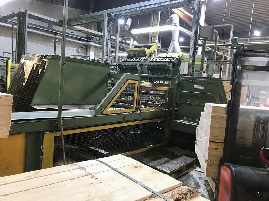 Automatic Pallet Cover Cutting Machine WEIMER DE-1 Image-2