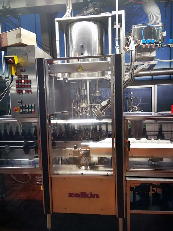 Rotary Capping Machine ZALKIN CA4 300 Image-1