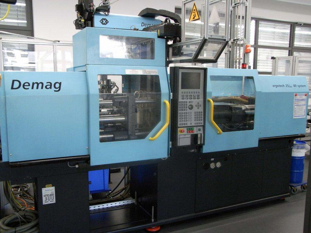 Injection Moulding Machine DEMAG ERGOTECH 25/ 280-80 system Image-1