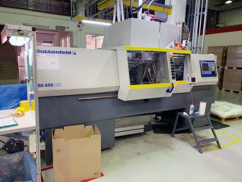 Injection Moulding Machine BATTENFELD BE 600/ 200 CDC Image-1