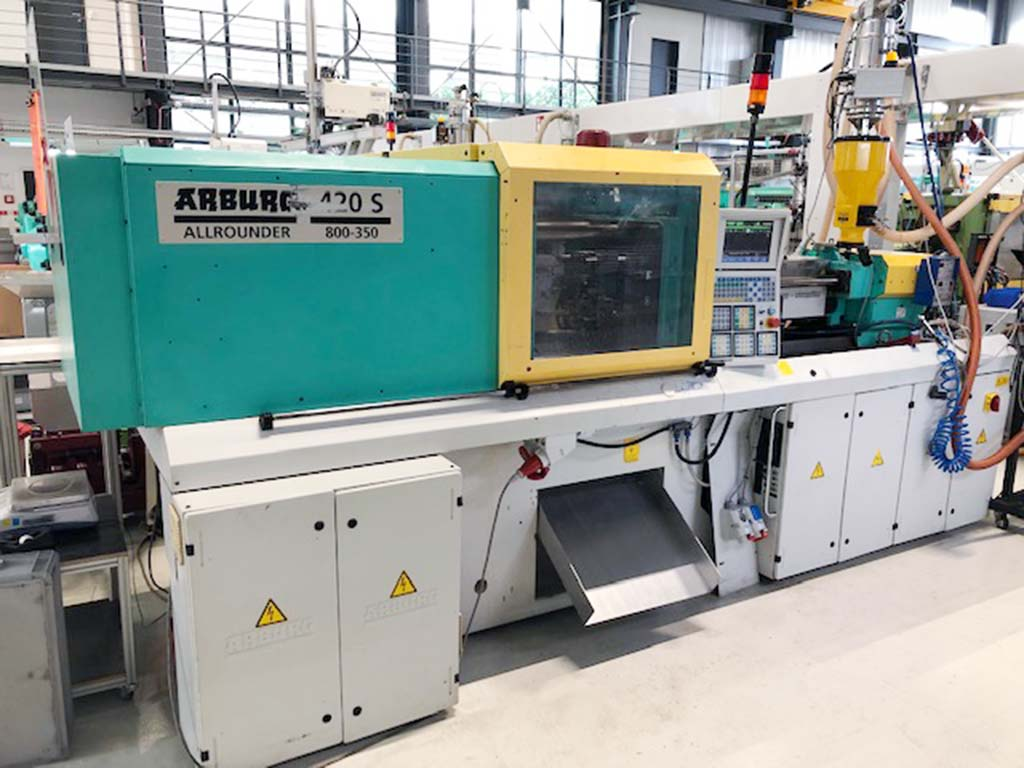 Injection Moulding Machine ARBURG 420S 800-350 Image-1