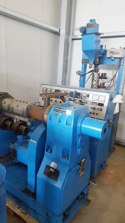 Single Screw Extruder KUHNE 45-24D Image-1