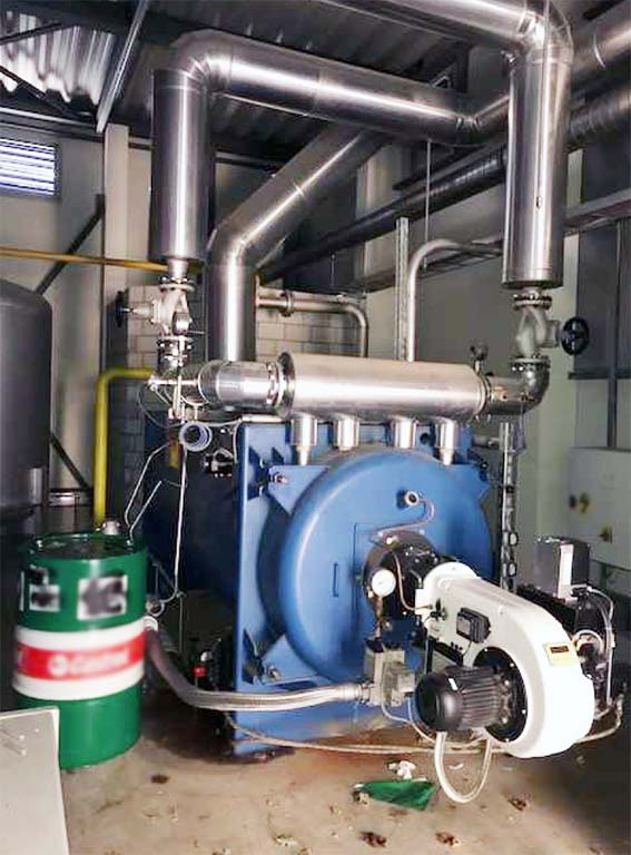 Thermal Oil Heating Plant ALLWEILER/ ELCOTHERM Image-1