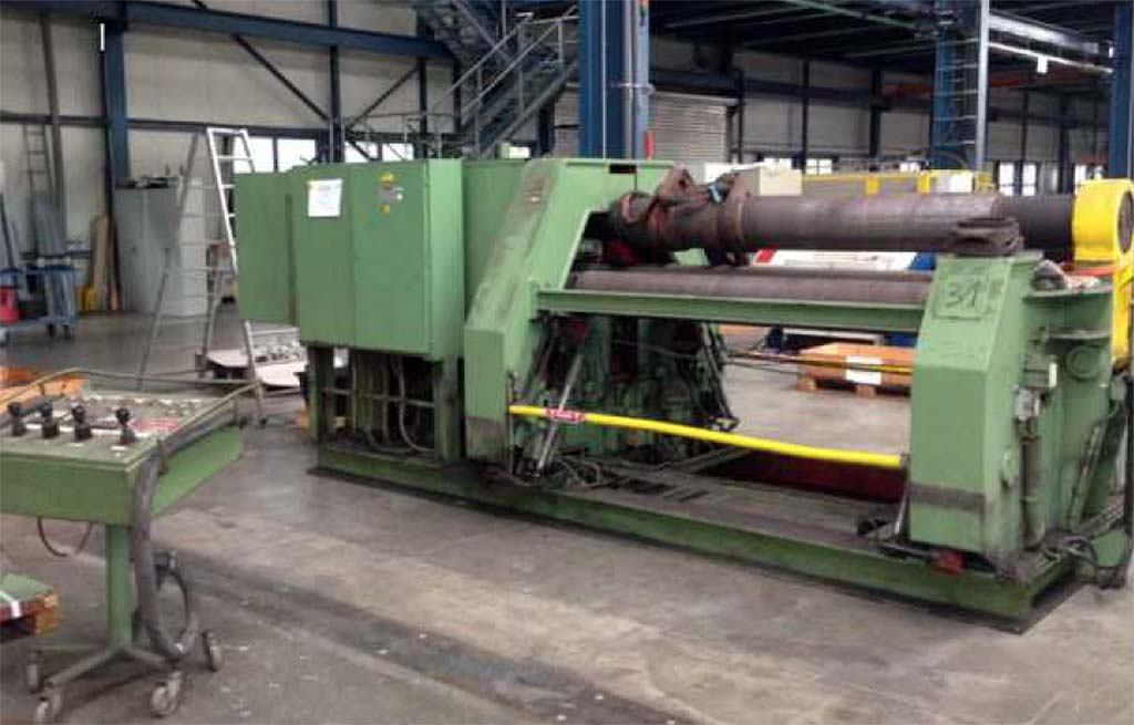 Four Roller Bending Machine SCHÄFER SRMV 2000/ 16 Image-1