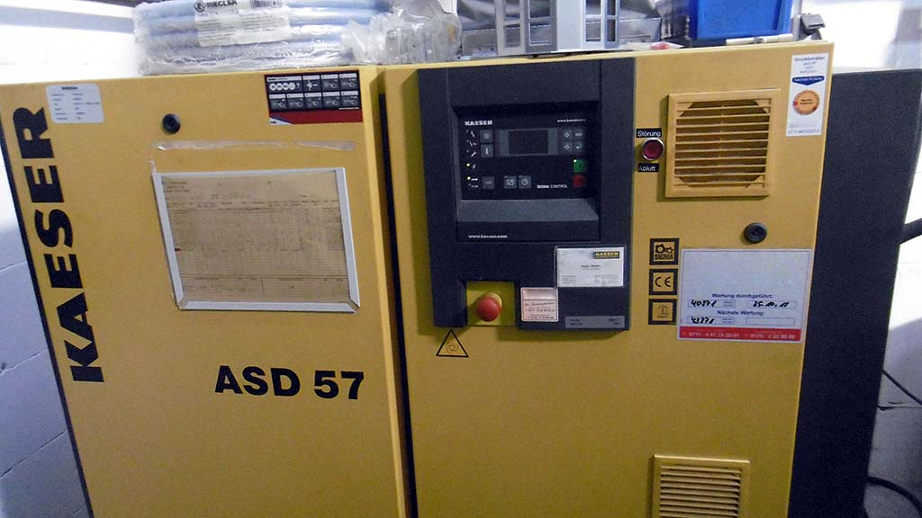 Screw Compressor KAESER ASD 57 Image-2