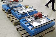 Scissor-Lifting-Table-Power-lift-EHL-20-125A-EL5-80 used