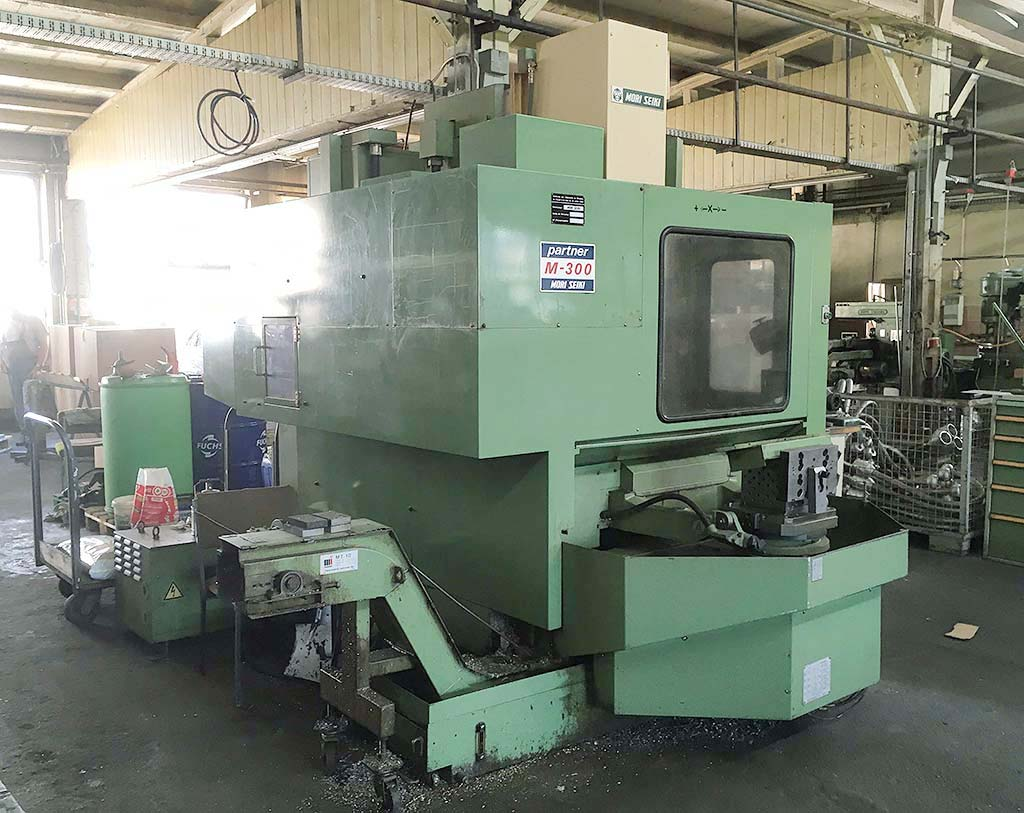 CNC Machining Center MORI SEIKI M-300 A1 Image-1