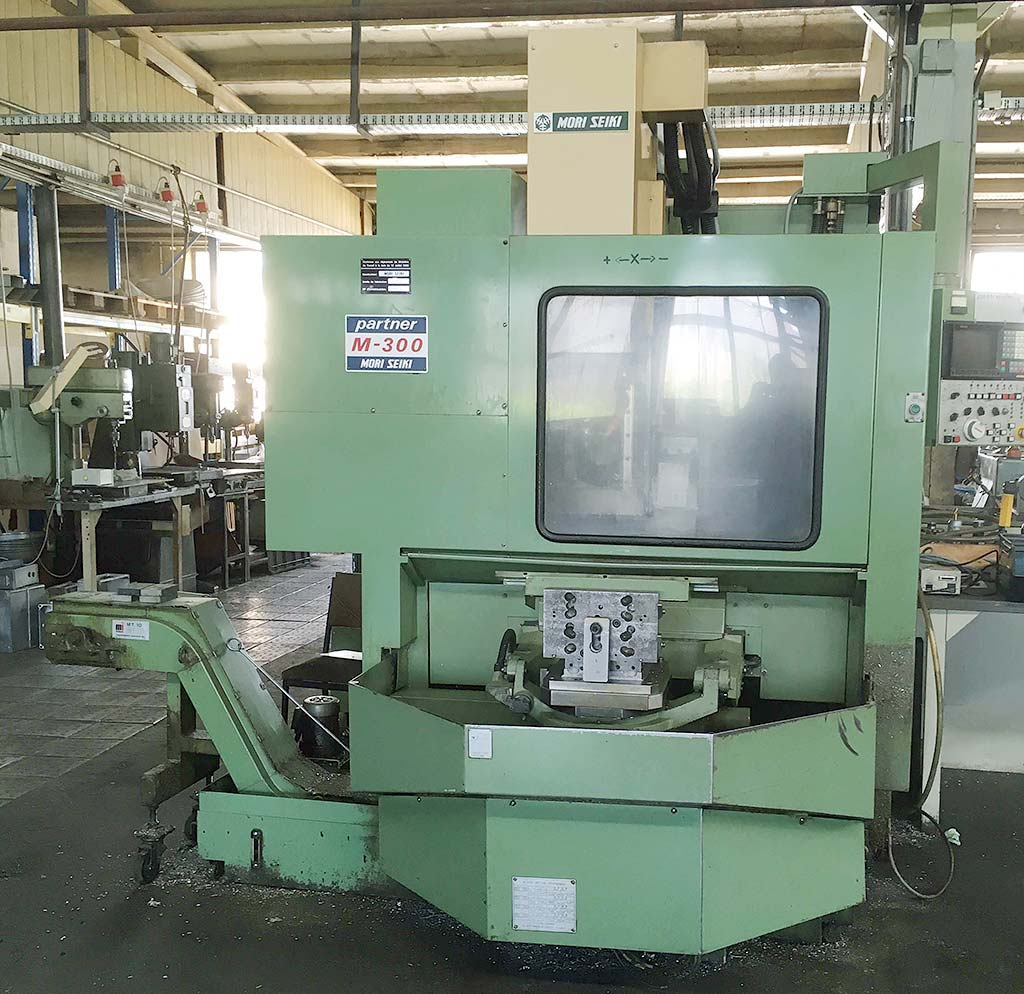 CNC Machining Center MORI SEIKI M-300 A1 Image-4
