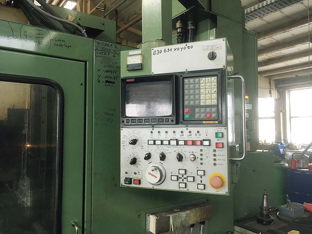 CNC Machining Center MORI SEIKI M-300 A1 Image-5