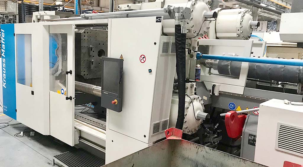 Injection Moulding Machine KRAUSS MAFFEI KM 651-4300 GX Image-1